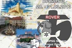 Rover und Leiterausflug_Bratislava 2013