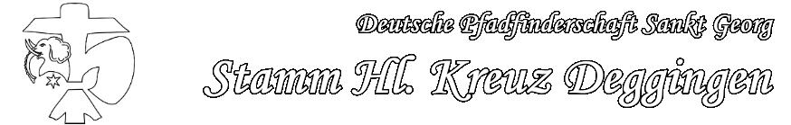 Stamm Hl. Kreuz Deggingen | DPSG Pfadfinder